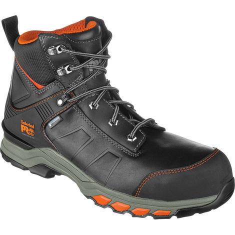 Chaussures de sécurité S3 WR HRO SRC ESD Hypercharge Cuir Timberland Pro noires