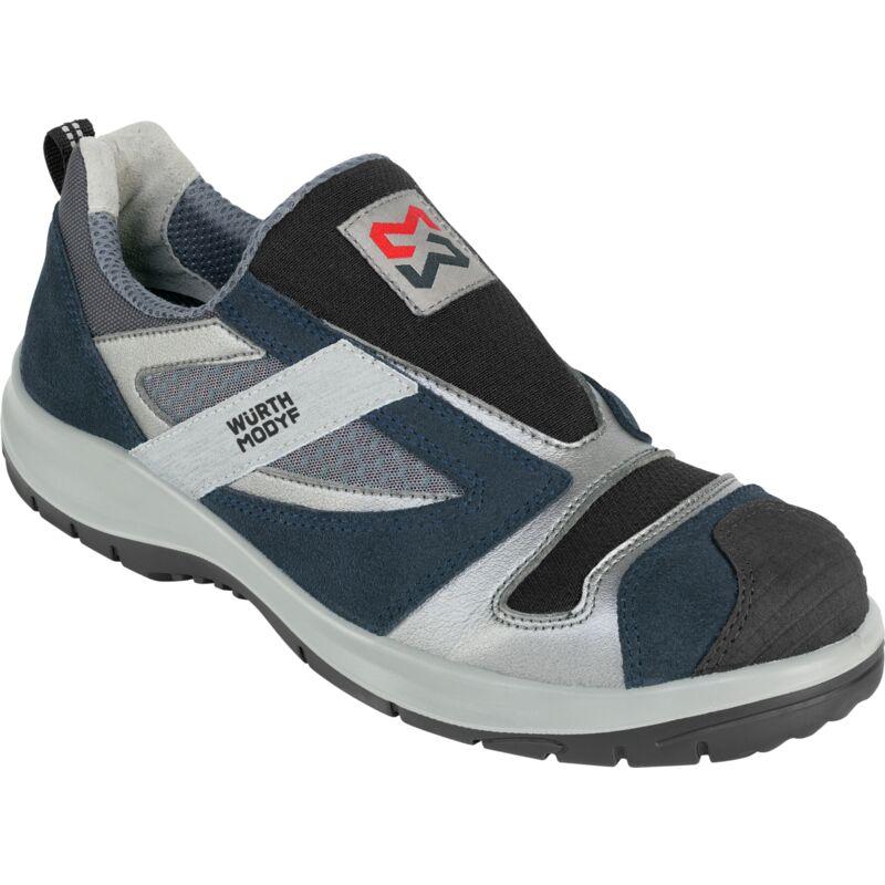Chaussures de sécurité sans lacets Stretch X Würth MODYF bleues