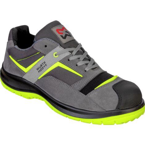 Chaussures de sécurité SB P E FO WRU Stretch X Electric grises/jaunes