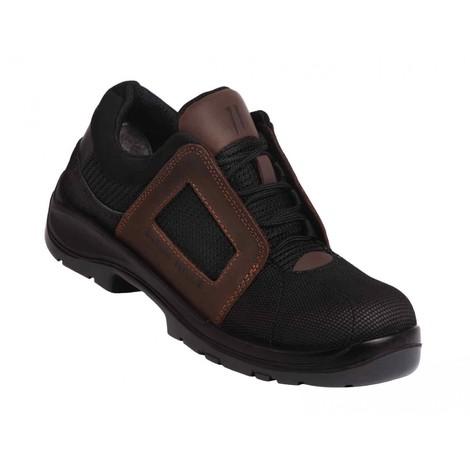 acheter en ligne 41ffc be2ba Chaussures de sécurité ultra légères Air Lace Noir S1P SRC ESD GASTON MILLE  - AHBN1