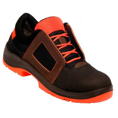 5ee7b65ec68de8 Chaussures de sécurité ultra légères Air Lace Noir S1P SRC ESD GASTON MILLE  - AHBN1