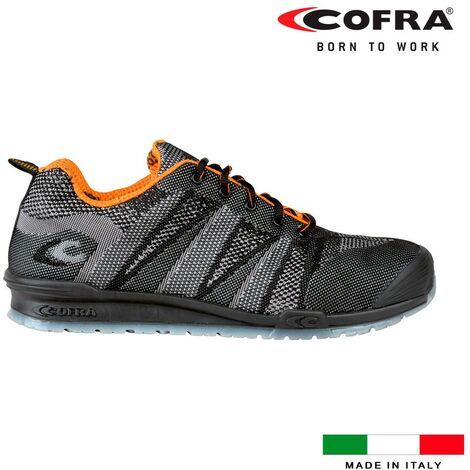 Chaussures de segurite cofra fluent black s1 taille 44.