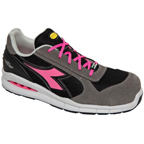 Chaussures de travail femme Diadora Run Net Airbox Geox Low S1P SRC 38