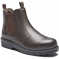 Chaussures de travail montantes Dickies Boots Dealer S1P SRA Noir