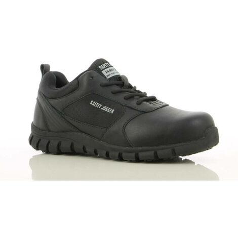 Chaussures de travail ultra légères Safety Jogger KOMODO S3 SRC ESD Noir 38