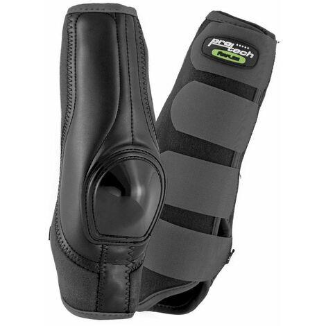 Chaussures Dynamic Skid arrière en néoprène avec renfort cuir et plastique anatomique et respirant avec système de ventilation AirFlow Protech