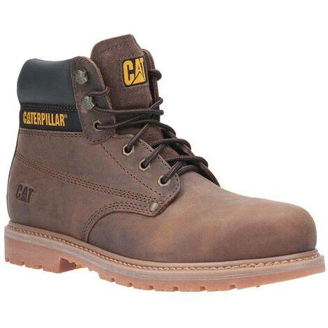 Chaussures hautes de sécurité S3 Caterpillar POWERPLANT Marron 44