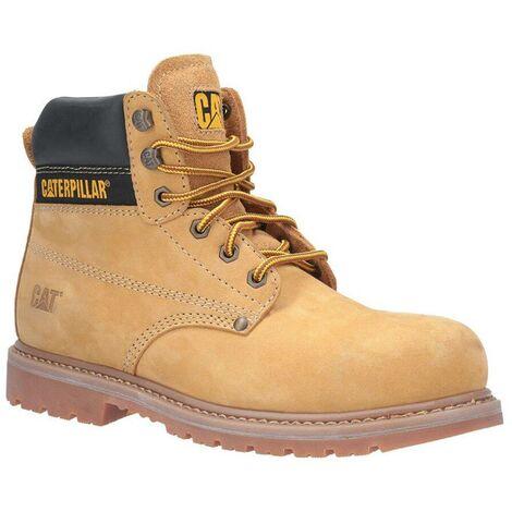 Chaussures hautes de sécurité S3 Caterpillar POWERPLANT Miel 45