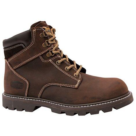 Chaussures montantes de travail BAROUDEUR véritable cousu Goodyear - SOLIDUR
