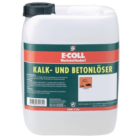 Chaux UE et décapant béton E-COLL - bidon 5 litres