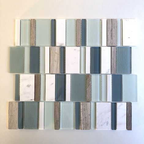 cheap tile mosaic for floor and wall model NOKA