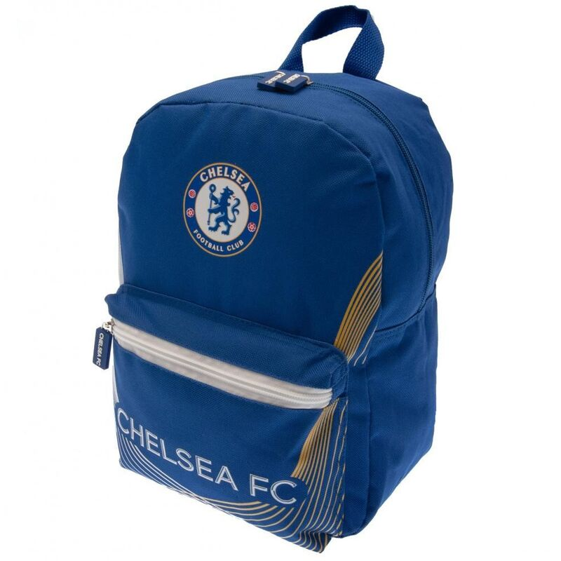 Image of Chelsea FC Childrens/Kids Backpack (One Size) (Blue)