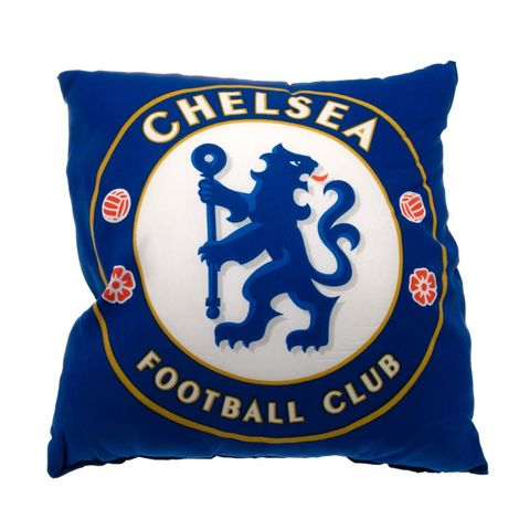 Chelsea FC Cushion (One Size) (Blue)