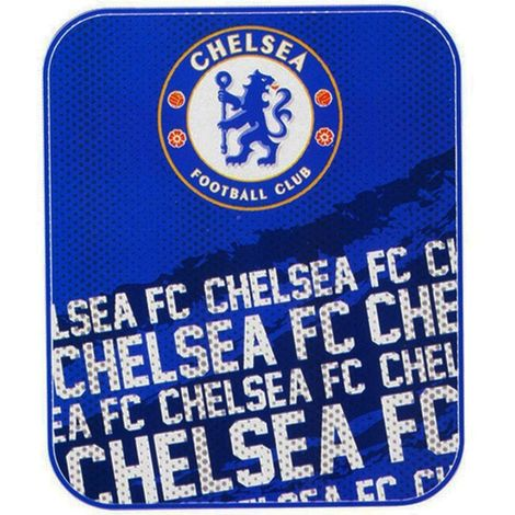 Chelsea FC Impact Fleece Blanket (One Size) (Blue)