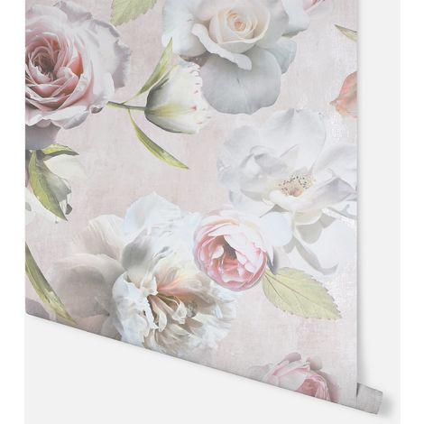 Chelsea Garden Blush Wallpaper - Arthouse - 908900