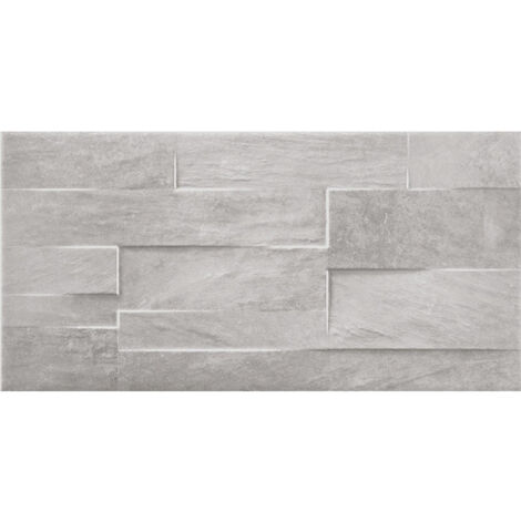 Chelsea Grey Brick Wall Tiles 257mm x 515mm - Box Of 12 (1.59m2)