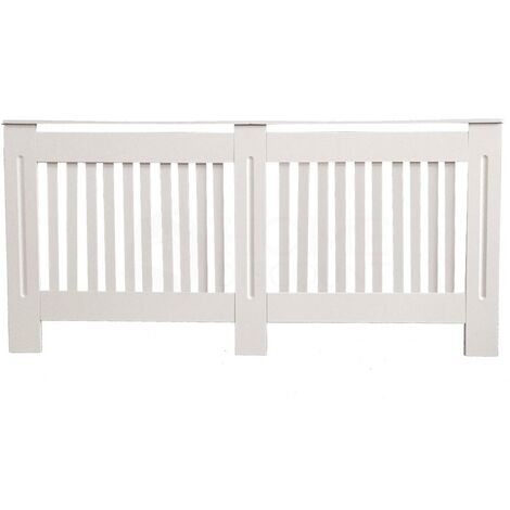 Chelsea Radiator Cover, White, Extra Large