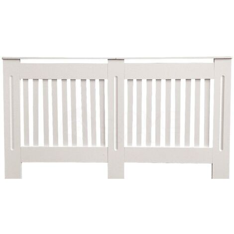 Chelsea Radiator Cover, White, Large