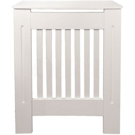 Chelsea Radiator Cover, White, Small