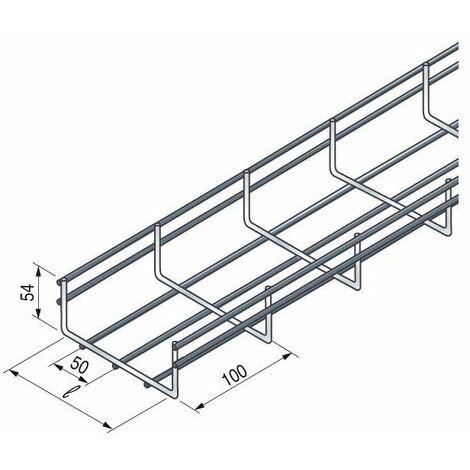 Chemin de cable fil 100x30 ez