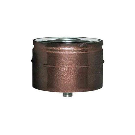 cheminée air ISOLE DN 160/180 CAP CONDENSAT arabesqued INOX