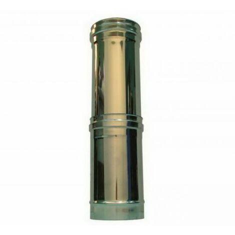 cheminée air ISOLE DN 160/180 élément télescopique INOX