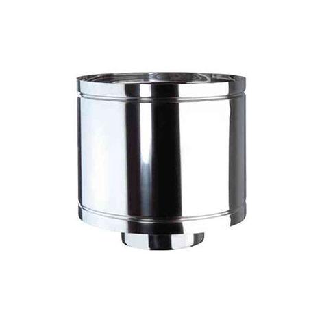 cheminée air ISOLE DN 160/180 HAT déviateur INOX