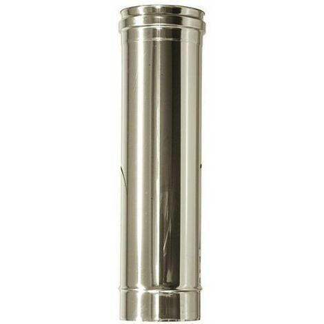 cheminée air ISOLE DN 160/180 longueur 0,5 m. INOX