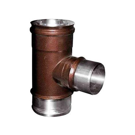 cheminée air ISOLE DN 160/180 RACCORD T 90 ° 80 REDUIT SP ar