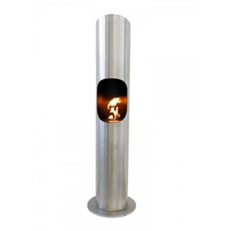 Cheminée au bioéthanol à poser 1800 W en acier chauffage PORTOFINO