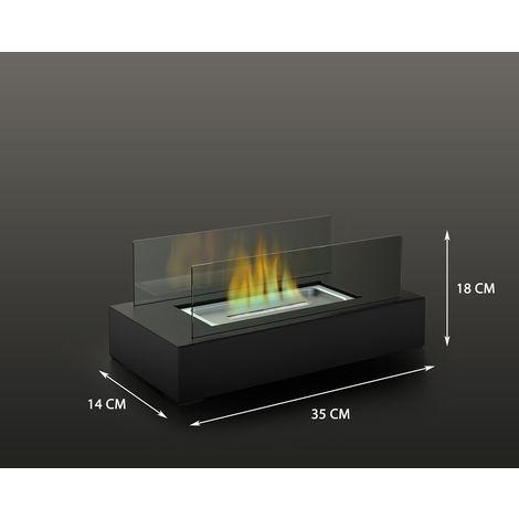 Cheminée au bioéthanol FireFriend DF-6500 – Cheminée de table – Design élégant