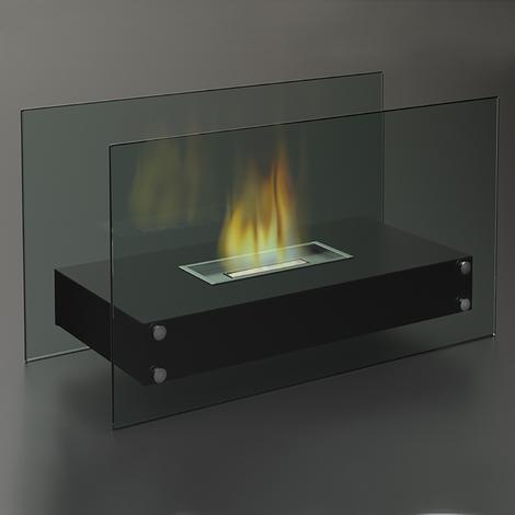 Cheminée au bioéthanol FireFriend DF-6513 – Intérieur et extérieur – Design élégant
