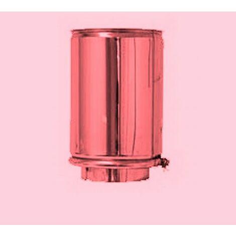 Cheminée de cuivre isolé DN 150/200 élément 250 mm droit