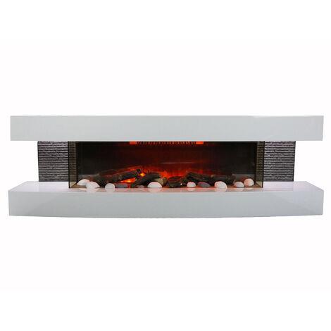 cheminée électrique 2000w - lounge 3xl - chemin\'arte