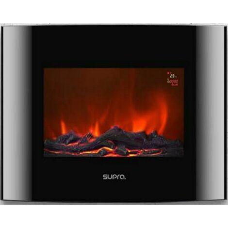 cheminée électrique 2000w - luneo-2000 - supra