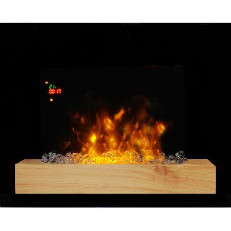 cheminée électrique 2000w noir - 179 - chemin'arte