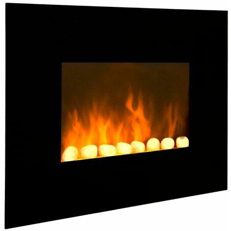 """Cheminée électrique décorative """"Black Fire"""""""