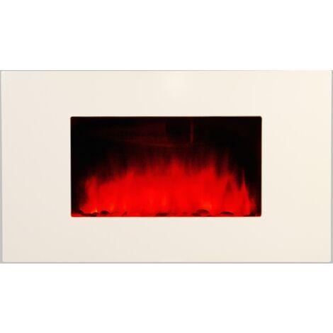 """Cheminée électrique décorative """"White Loft"""" - Color Style"""