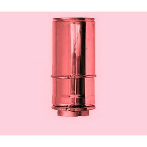 Cheminée élément télescopique de cuivre isolé DN 150/200