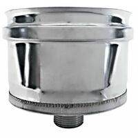 cheminée isolé INOX dn 500/550 bouchon collecte condensat