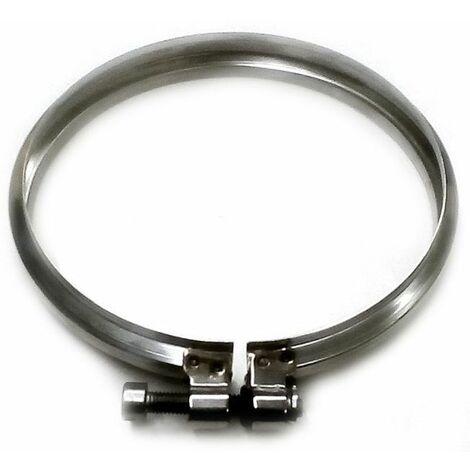 cheminée isolé INOX dn 80/130 de serrage de verrouillage