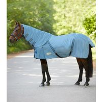 Chemise anti-mouches cheval couvre-cou amovible Protect