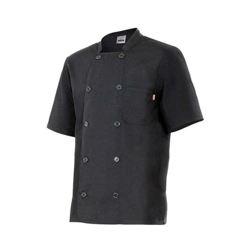 Veste de cuisine manches courtes Noir 58 - Velilla