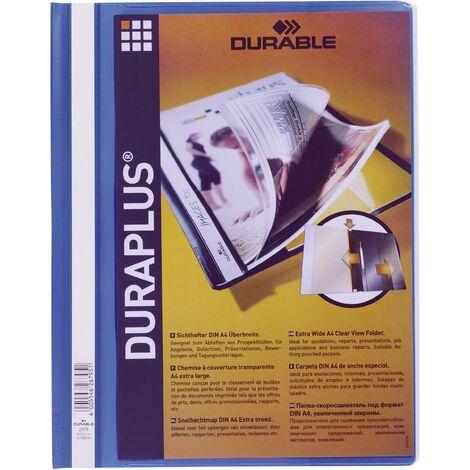 Chemise de présentation Durable duraplus bleue D48131