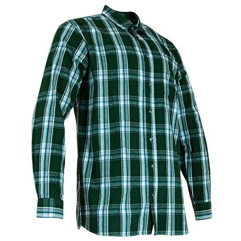 Chemise flanelle à carreaux 1 poche - CRICKET