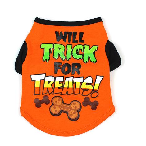 Chemise Halloween Pour Chien, T-Shirt Pour Animaux De Compagnie, S