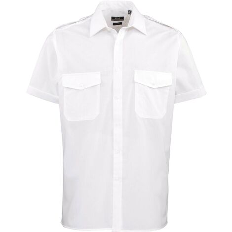 """main image of """"Chemise Homme manches courtes Pilote"""""""