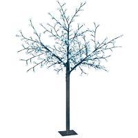 Cherry Blossom Outdoor Christmas Tree - Ice White - 1.5 Meter
