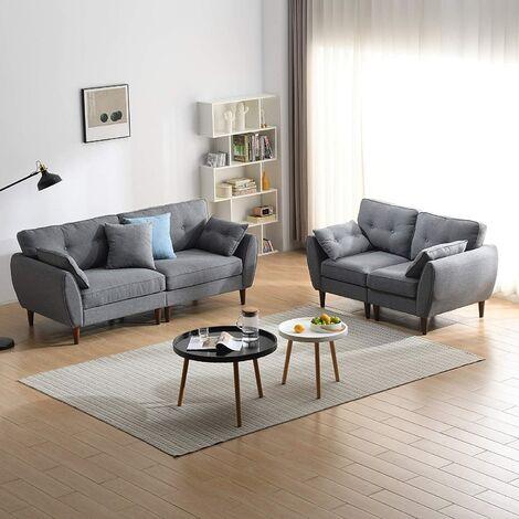 "main image of ""Cherry Tree Furniture Brooks Fabric Sofa range"""