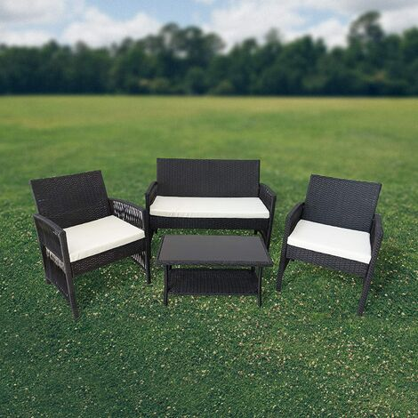 Cherry Tree Furniture 4 Seater Garden Set Patio Set with Table